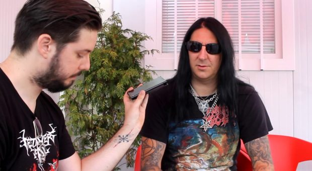 [Video] DARK FUNERAL interview – Nailed to the cross