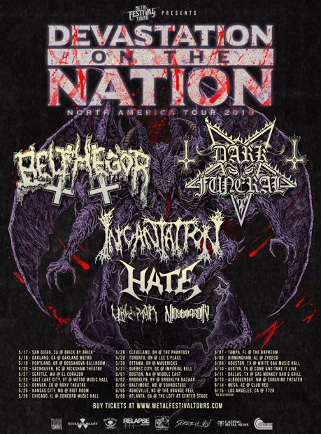 devastation of the nation tour